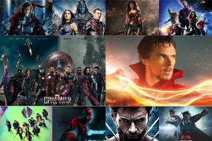 23 filmy z suberbohaterami do 2020 roku [fot. collage Senior.pl]