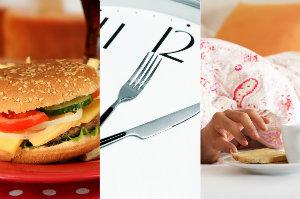 5 najgorszych nawyków żywieniowych [fot. collage Senior.pl]