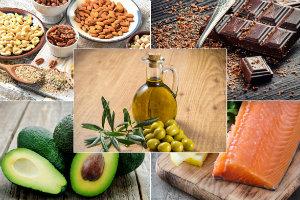 5 zdrowych produktów bogatych w tłuszcze [fot. collage Senior.pl]