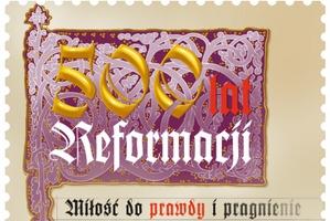 500 lat Reformacji na znaczku Poczty Polskiej [fot. Poczta Polska]