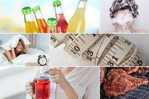 6 zaskakuj�cych czynnik�w starzenia si� sk�ry [fot. collage Senior.pl]