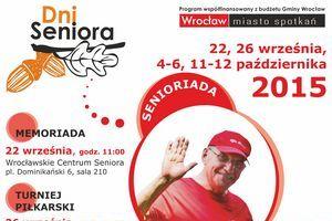 """""""Dni Seniora - Wrocław 2015"""" - coś dla sportowców w każdym wieku [fot. Dni Seniora]"""