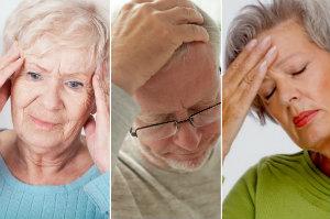 9 częstych typów bólu głowy i ich leczenie [Ból głowy, fot. collage Senior.pl]