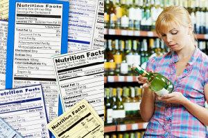 Alkohol z oznaczeniem kaloryczności? [fot. collage Senior.pl]