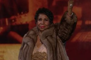 Aretha Franklin, fot. Youtube/CNET