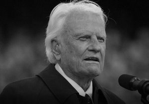 Billy Graham nie żyje [Billy Graham, fot. billygraham.org]