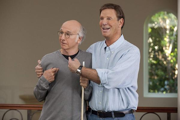 Bob Einstein nie żyje [Larry David i Bob Einstein fot. HBO]