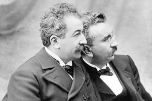 Bracia Lumière - historia kina w Dojrzałym Kinie [fot. Bracia Lumiére]