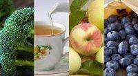 Brokuły, herbata, jabłka, jagody - oto eliksir młodości