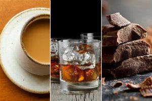 Chcesz mieć zdrowy pęcherz? Unikaj alkoholu, czekolady i kawy [fot. collage Senior.pl]