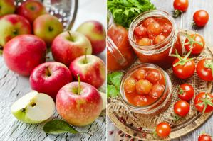 Chcesz się odmłodzić? Jedz jabłka i pomidory [fot. collage Senior.pl]