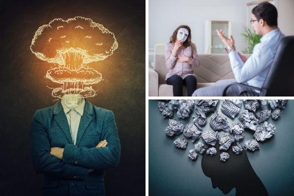 Ciężkie choroby psychiczne - zmiany w stylu życia pozwolą pacjentom żyć dłużej [fot. collage Senior.pl / Canva]