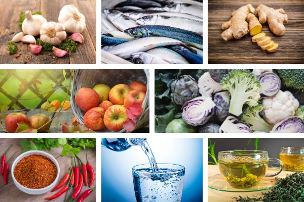 Co jeść, by poprawić zdrowie płuc [fot. collage Senior.pl / Canva]