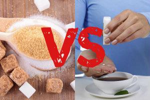 Cukier czy słodzik? Zanim wybierzesz, porównaj [fot. collage Senior.pl]