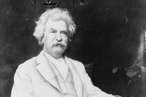 Czego uczą nas giganci historii - Mark Twain i jego życiowe lekcje [Mark Twain, fot.  A.F. Bradley, New York, PD]