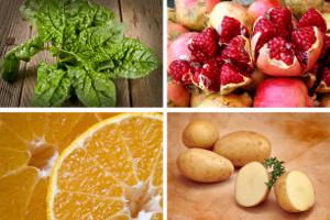 Cztery najzdrowsze produkty na zimę [fot. collage Senior.pl]