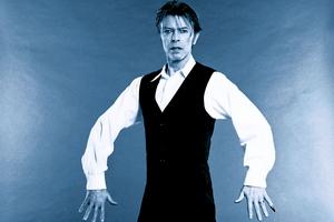 """David Bowie chciał zagrać we """"Władcy pierścieni"""" [David Bowie fot. Sony BMG]"""