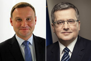 Debata prezydencka Komorowski vs. Duda - wspomniano także o seniorach [fot. collage Senior.pl]