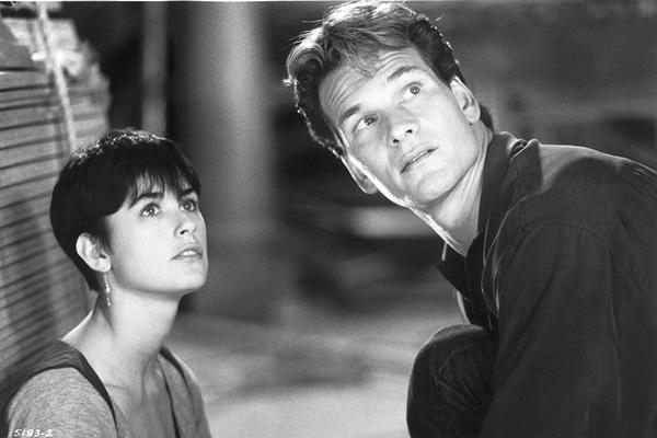 Demi Moore i Patrick Swayze fot. Paramount Pictures