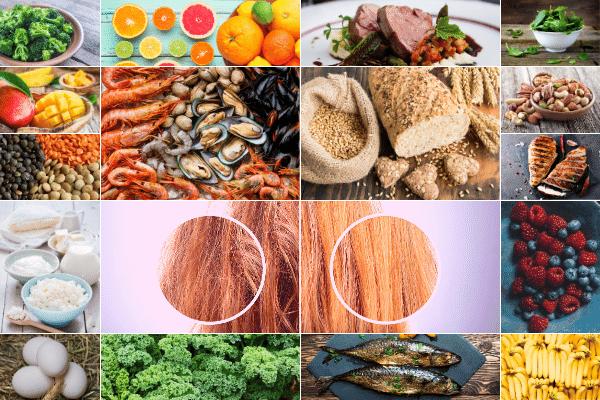 Dieta, która sprawi, że włosy będą zdrowe i błyszczące [fot. collage Senior.pl / Canva]