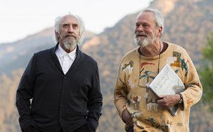 """Don Kichot"" Terry'ego Gilliama w końcu trafi do kin [Jonathan Pryce i Terry Gilliam fot. Amazon Studios]"