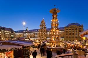 Drezno: Striezelmarkt i inne jarmarki bożonarodzeniowe [fot. Sylvio Dittrich / JEN]