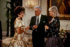 """Dynastia"" - serial wszechczasów powraca [Joan Collins, John Forsythe i Linda Evans fot. ABC]"