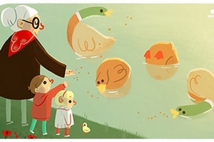 Dzień Babci 2015 w Google Doodle [fot. Google]