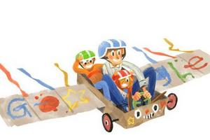 Dzień Ojca w Google Doodle [fot. Google]