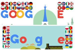 EURO 2016 na Google Doodle [fot. Google]