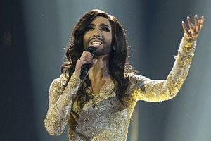 Conchita Wurst, fot. Albin Olsson, CC BY-SA 3.0