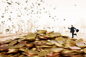 Firmy mają coraz więcej pieniędzy [© tiero - Fotolia.com]