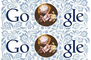 Google Doodle na Dzień Babci 2014 [fot. Google]