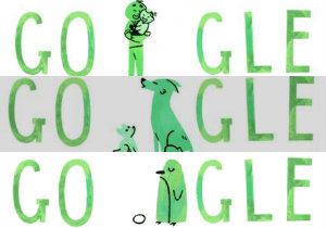 Google Doodle na Dzień Ojca 2015 [fot. Google]
