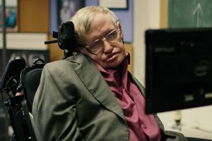 Stephen Hawking fot. Comic Relief/Youtube