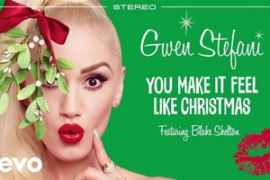 Gwen Stefani już obchodzi święta [fot. Gwen Stefani - You Make It Feel Like Christmas]