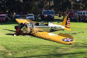 Harrison Ford miał wypadek lotniczy [fot. twitter.com/AndrewSiciliano]