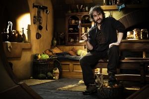 Hobbit oficjalnie z nowym tytułem [Peter Jackson fot. Forum Film]