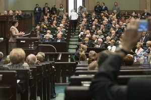 Inauguracyjne posiedzenie Obywatelskiego Parlamentu Seniorów [Fot. M. Śmiarowski/KPRM]