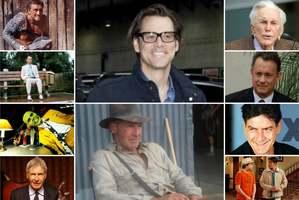 Indiana Jones, Spartakus, Forrest Gump, Maska... - dziadkowie ze srebrnego ekranu [fot. collage Senior.pl]