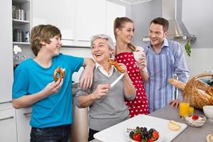 Inteligencja w spadku po... dziadku? Dieta babci wpływa na zdrowie wnuków [© Jeanette Dietl - Fotolia.com]
