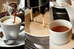 Jak dobrać kawę do sposobu parzenia? [Kawa, fot. collage Senior.pl]