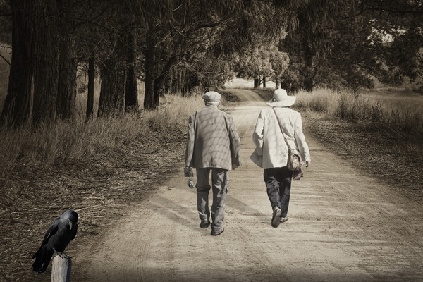 Jak dzięki spacerom można zmniejszyć stres [fot. enriquelopezgarre z Pixabay]