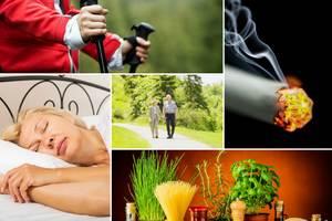 Jak osłabić niepokój - pięć skutecznych (i nieskomplikowanych) sposobów [fot. collage Senior.pl]