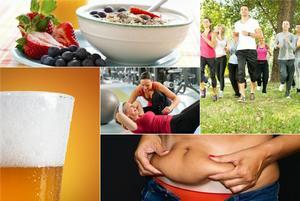 Jak pozbyć się otyłości brzusznej  [fot. collage Senior.pl]
