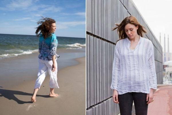 Jak sposób chodzenia wpływa na nastrój [fot. collage Senior.pl / Canva]