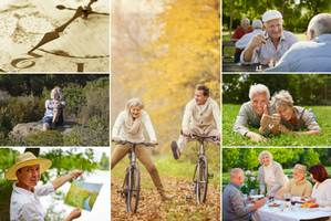 Jak szczęśliwie się zestarzeć [fot. collage Senior.pl]