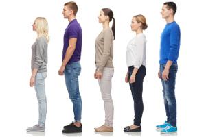 Jak wzrost wpływa na układ krążenia - wysocy ludzie częściej mają żylaki [Fot. Syda Productions - Fotolia.com]