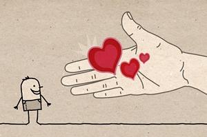Jak znaleźć szczęście? Trzeba być hojnym [© NLshop - Fotolia.com]