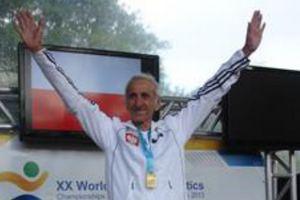 Jan Morawiec wygrał maraton podczas Mistrzostw Świata Weteranów w Lyonie [Jan Morawiec, fot. Siemens]